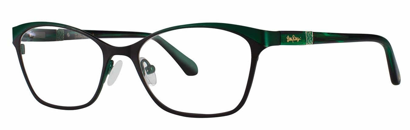 Glasses Frames Direct : Lilly Pulitzer Ryder Eyeglasses Free Shipping