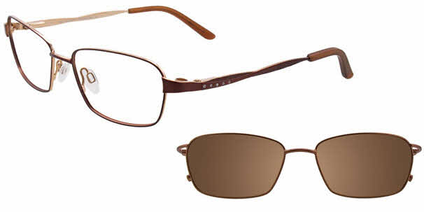 MDX Manhattan S3307-With Magnetic Clip on Lens Eyeglasses