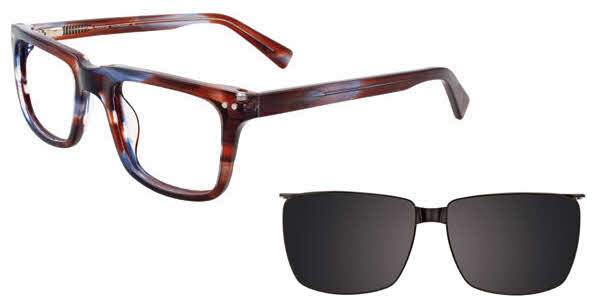 MDX Manhattan S3308-With Magnetic Clip on Lens Eyeglasses
