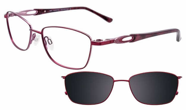MDX Manhattan S3322-With Magnetic Clip on Lens Eyeglasses