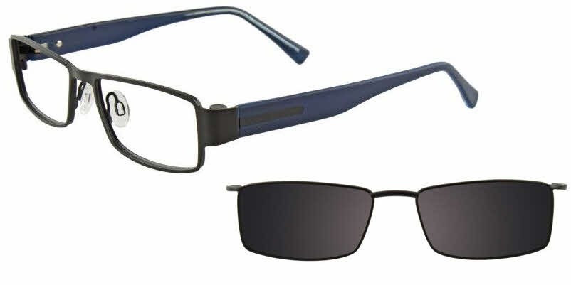 MDX Manhattan S3292-With Magnetic Clip on Lens Eyeglasses