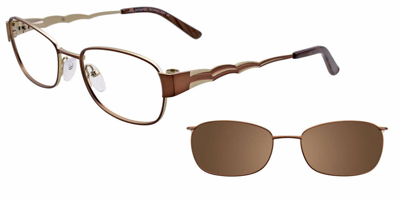 MDX Manhattan S3325-With Clip on Lens Eyeglasses