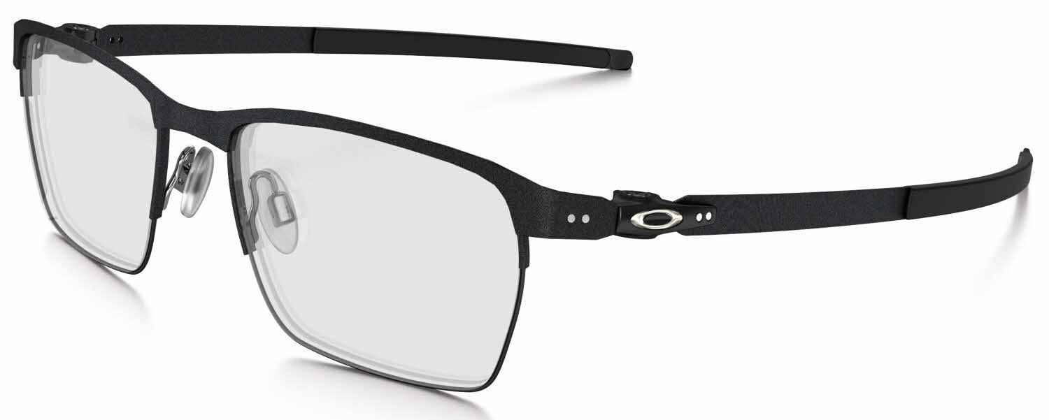 oakley prescription sunglasses mens  oakley tincup 0.5 titanium eyeglasses