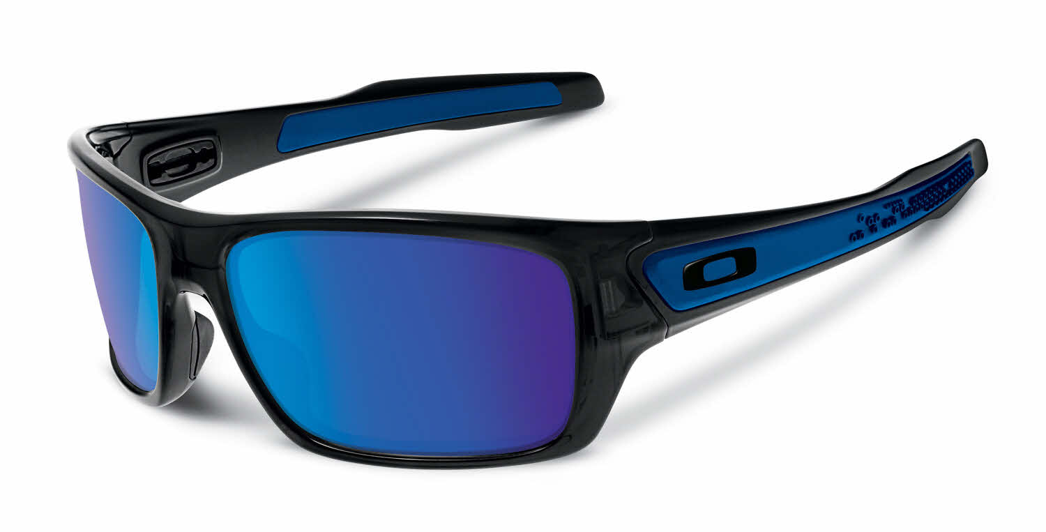 blue and white oakley sunglasses 1kj9  Oakley Turbine Sunglasses
