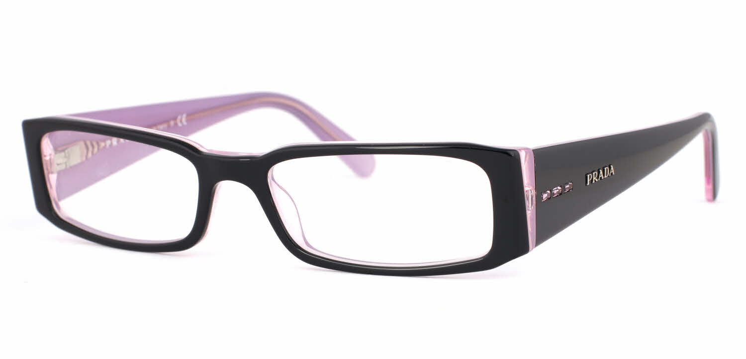 Eyeglass Frames And Lenses : Prada PR 10FV Eyeglasses Free Shipping