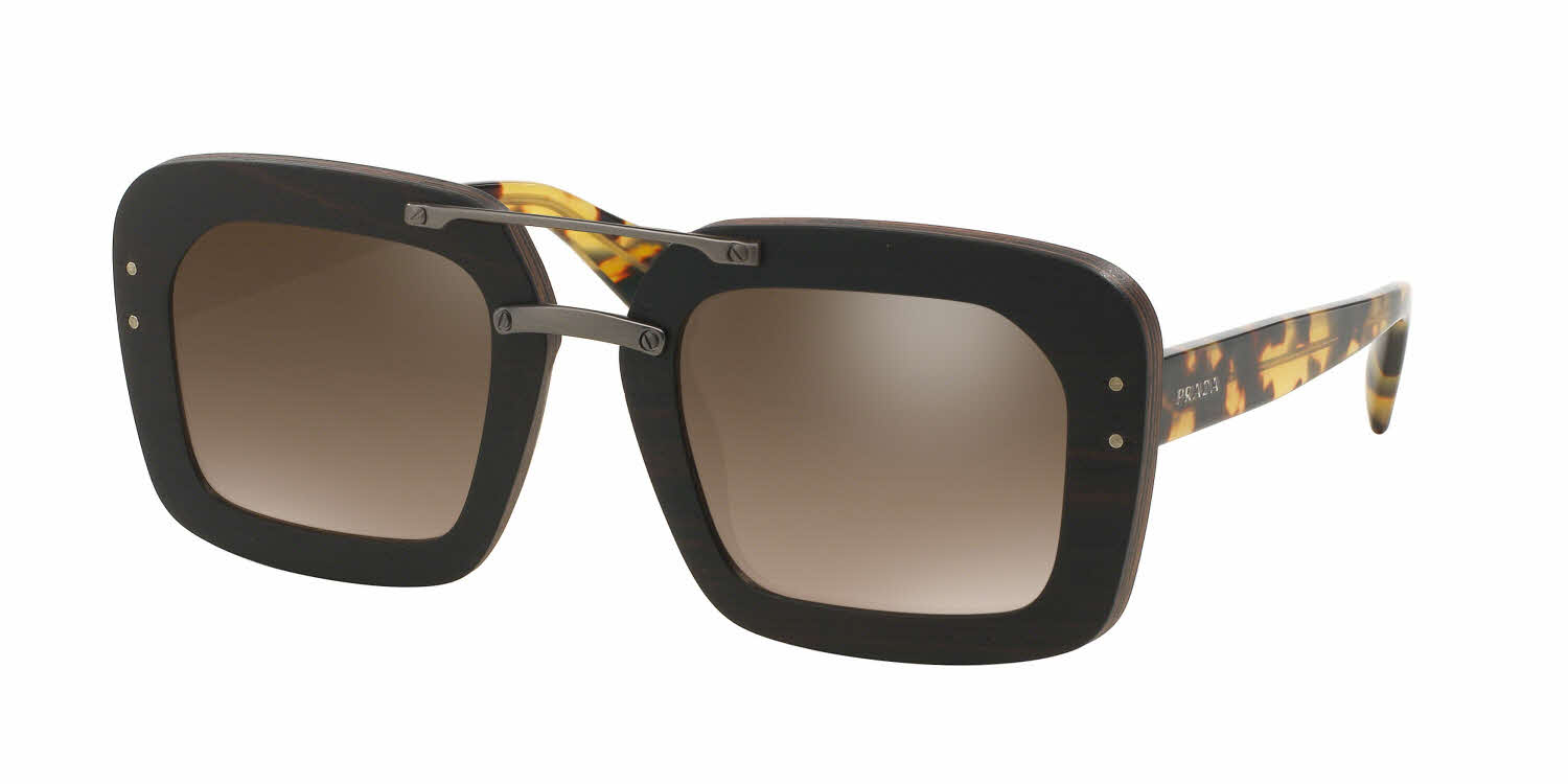 Prada PR 30RS - Wood Sunglasses