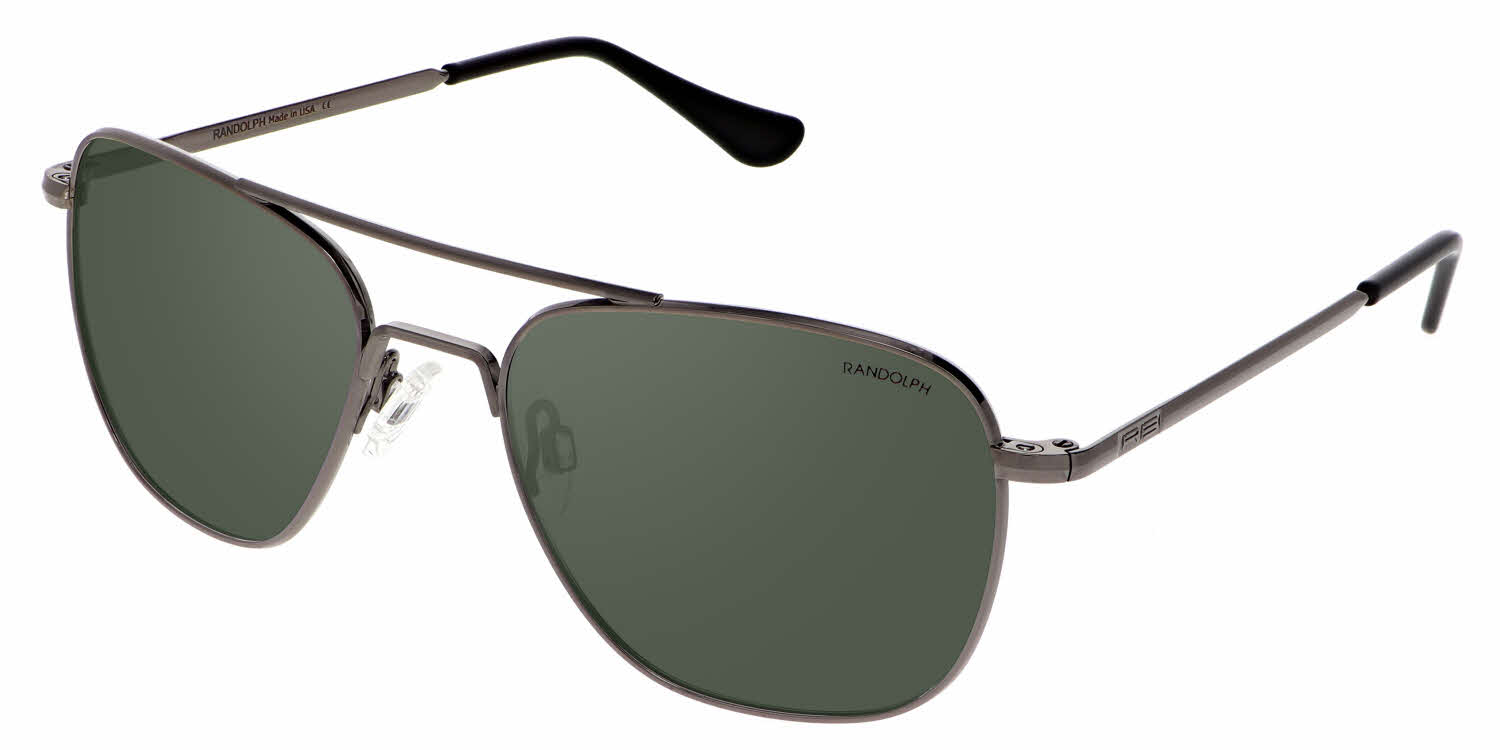 Randolph Engineering Aviator - Skull Temple Prescription Sunglasses