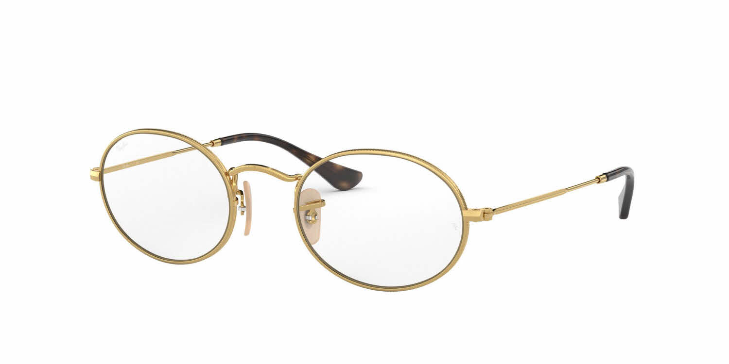 ray ban oval glasses
