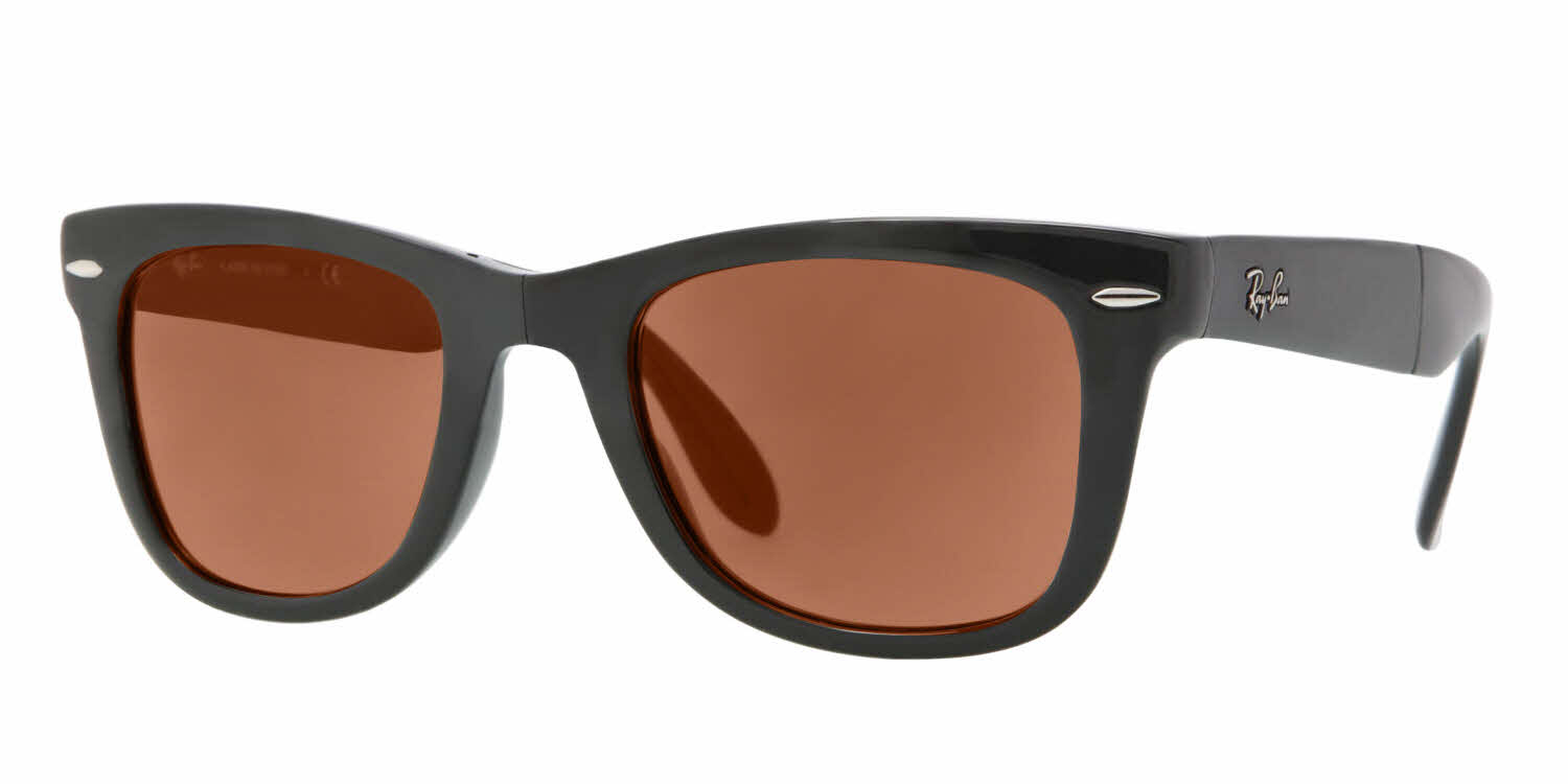 ray ban sunglasses sale offers  RayBan RB4105 black brn wm angle