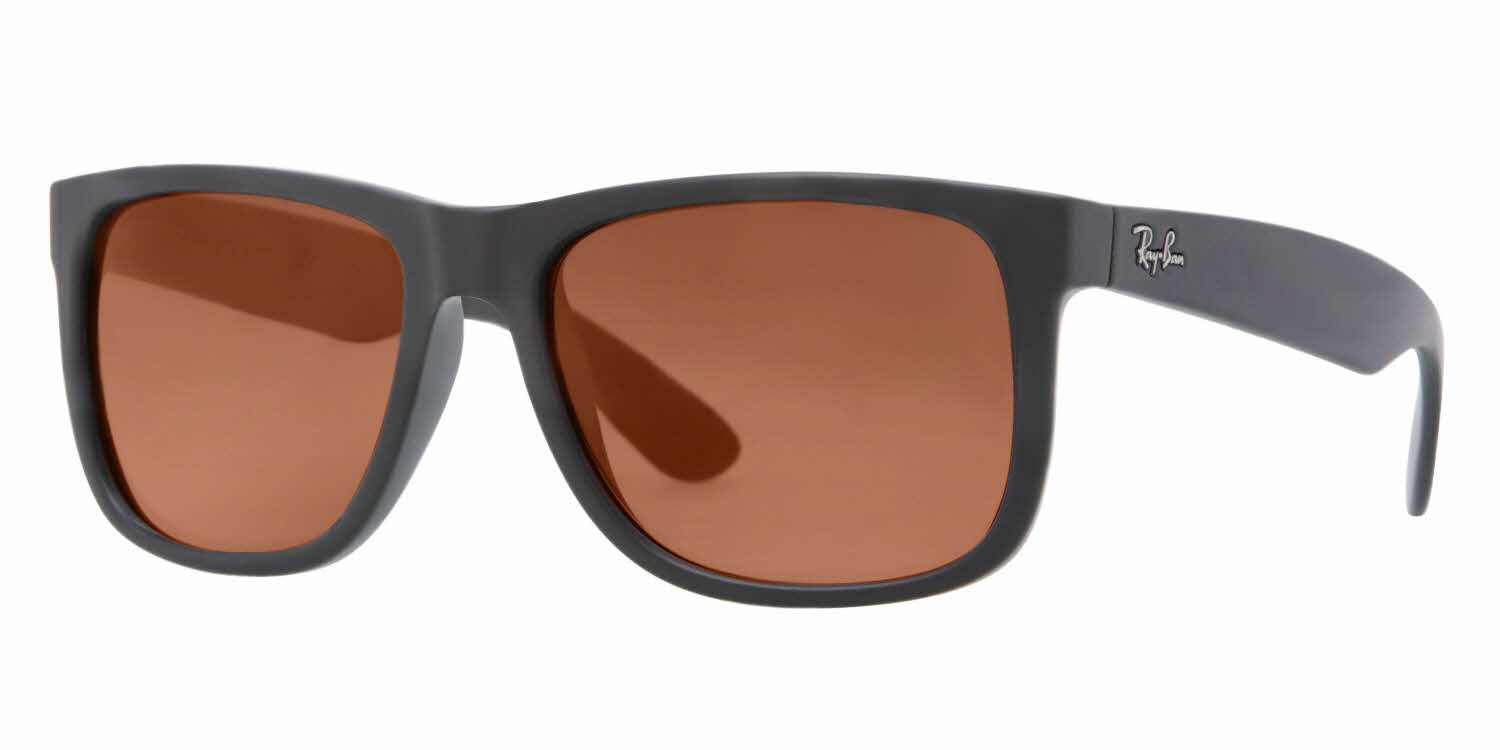 order ray ban prescription sunglasses online  ray ban rb4165 justin prescription sunglasses