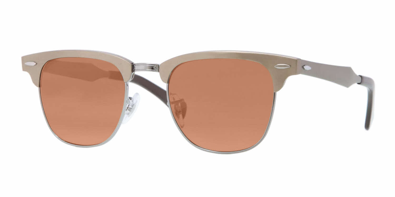 Ray-Ban RB3507 - Aluminum Clubmaster Prescription Sunglasses