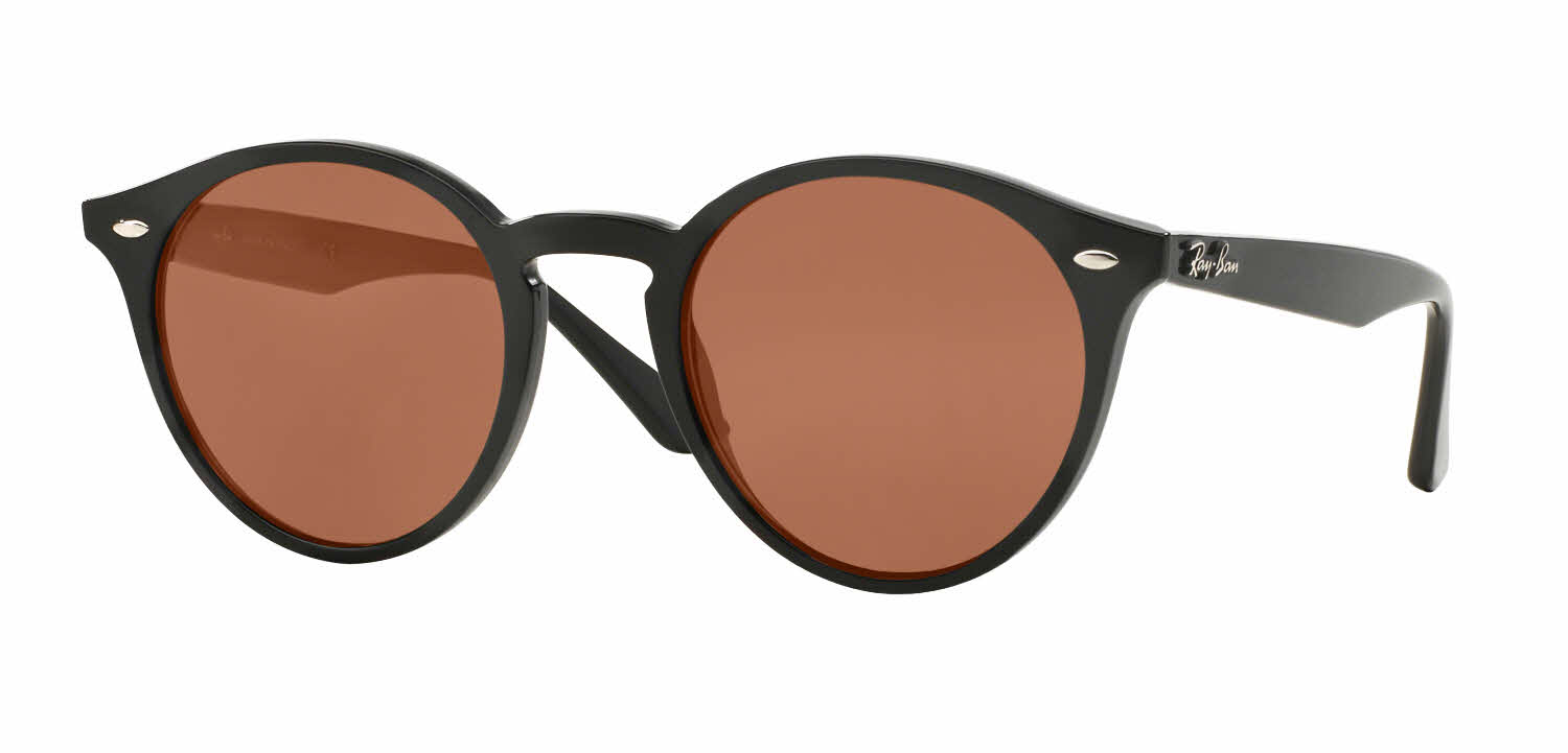 prescription ray ban sunglasses  Ray-Ban RB2180 - Round Prescription Sunglasses