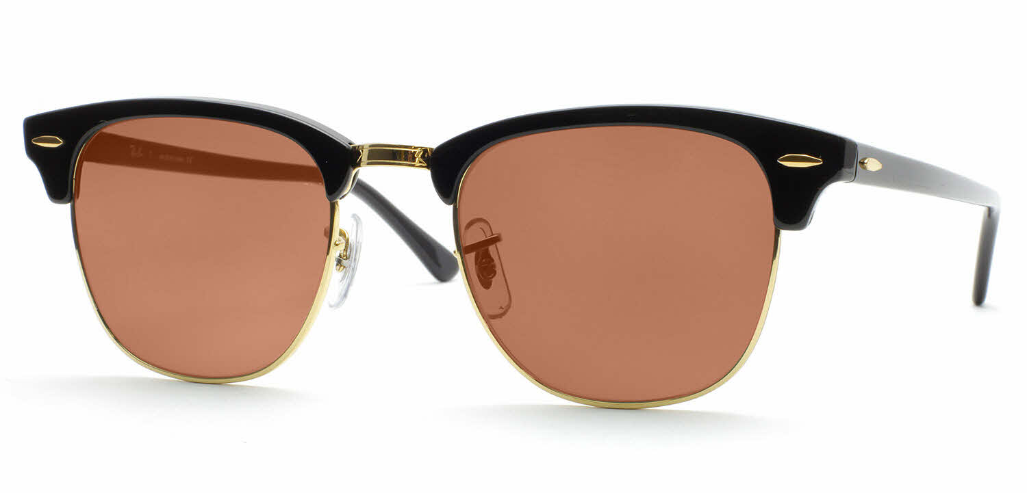 clubmaster classic tortoise  Ray-Ban RB3016 - Clubmaster Prescription Sunglasses
