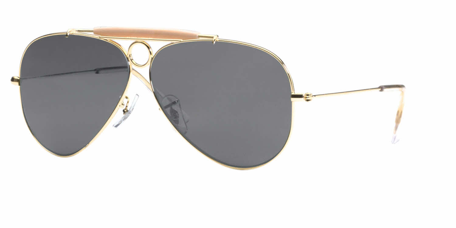 Ray-Ban RB3138 - Shooter Aviator Prescription Sunglasses