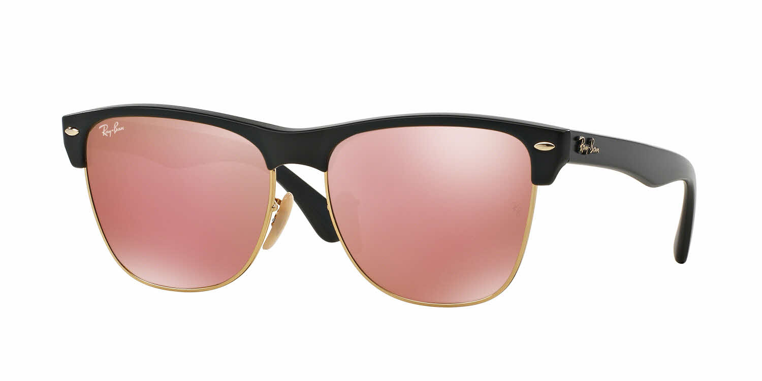 Ray Ban Rb4175 Oversized Clubmaster Sunglasses Free