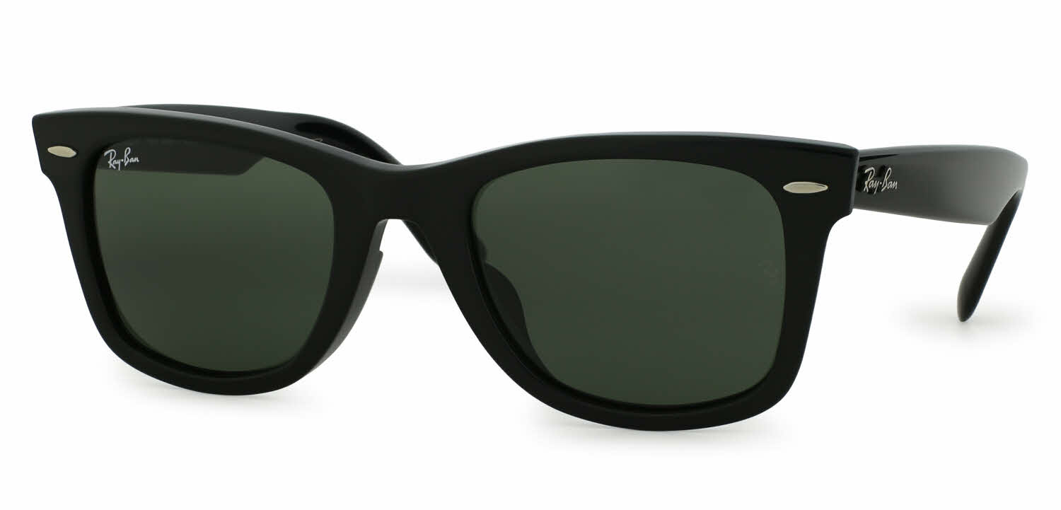 ray ban rb2140 wayfarer sunglasses size