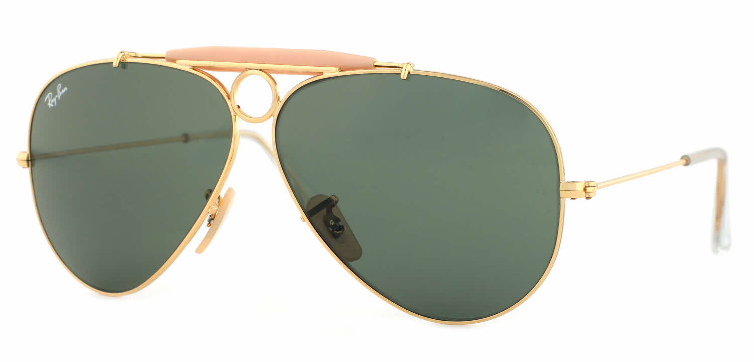 www ray ban com aviator  Ray-Ban RB3138 - Shooter Aviator Sunglasses