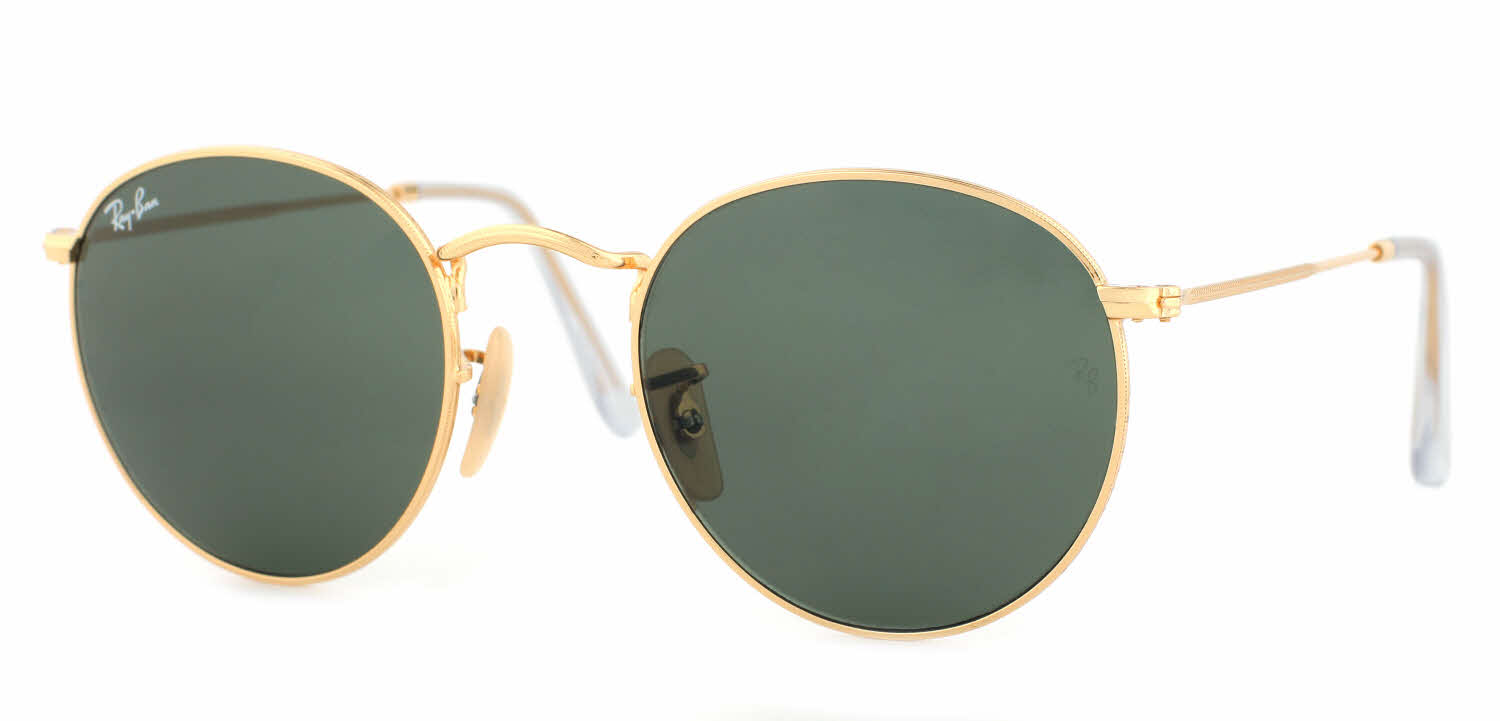 Ray-Ban RB3447 - Round Metal Sunglasses Free Shipping