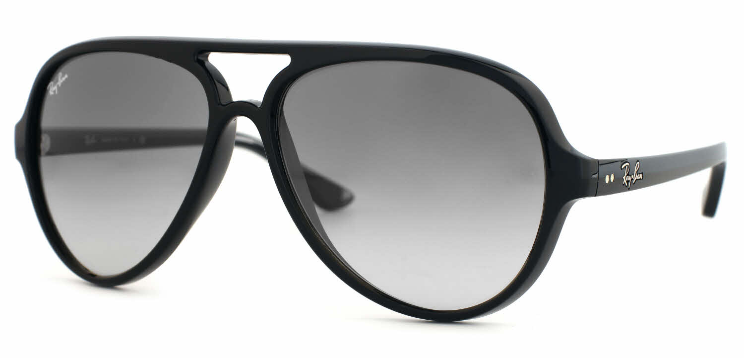 Ray Ban Black Sunglasses  ray ban rb4125 cats 5000 sunglasses free shipping