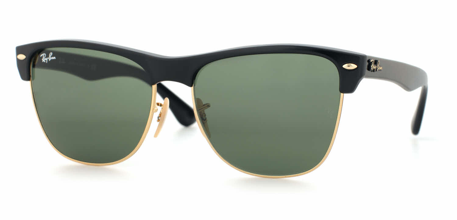 Ray Ban Glasses Large Frame : Ray-Ban RB4175 - Oversized Clubmaster Sunglasses Free ...