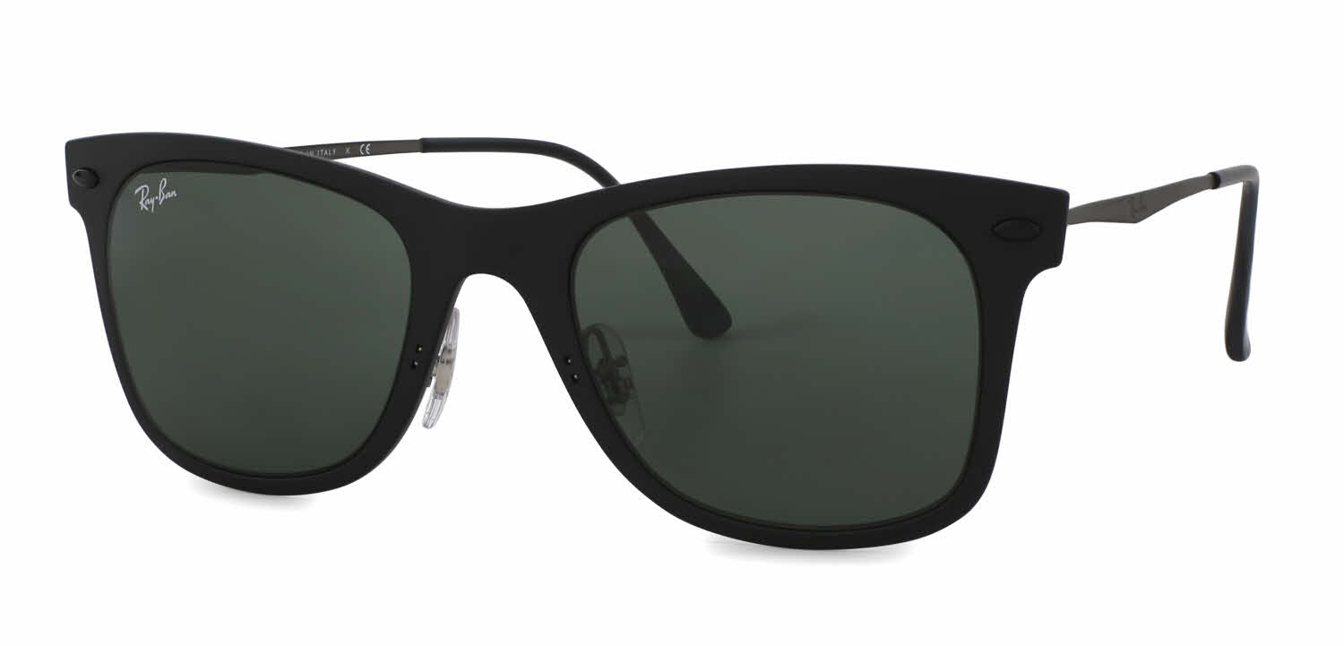 black ray ban wayfarer polarized  Ray-Ban RB4210 - Wayfarer Light Ray Sunglasses