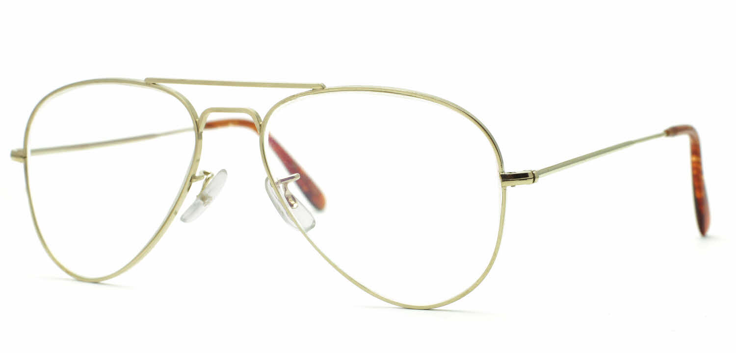 Savile Row 18Kt Aviator Eyeglasses Free Shipping