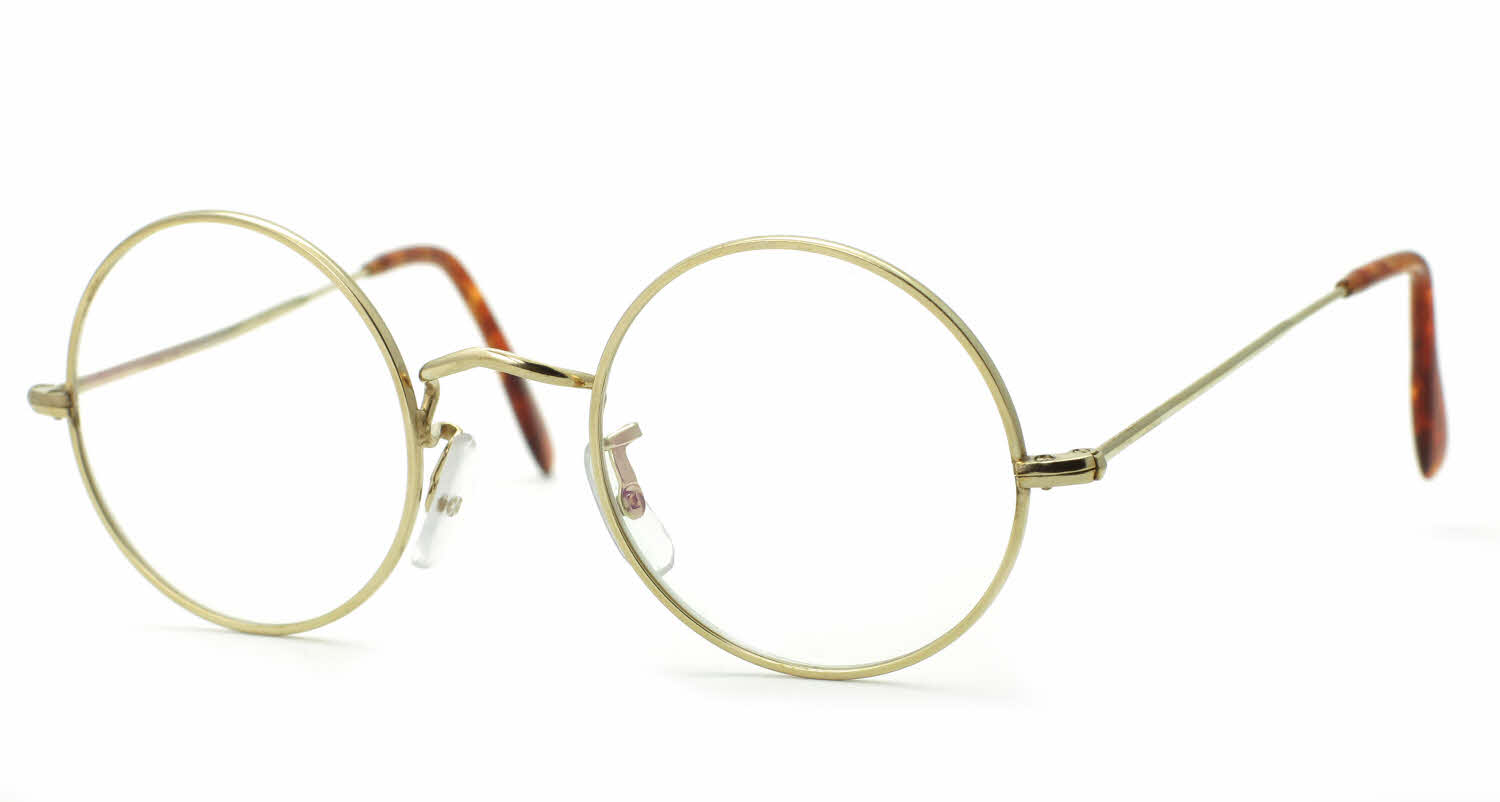 Savile Row 18Kt Round Eye Eyeglasses