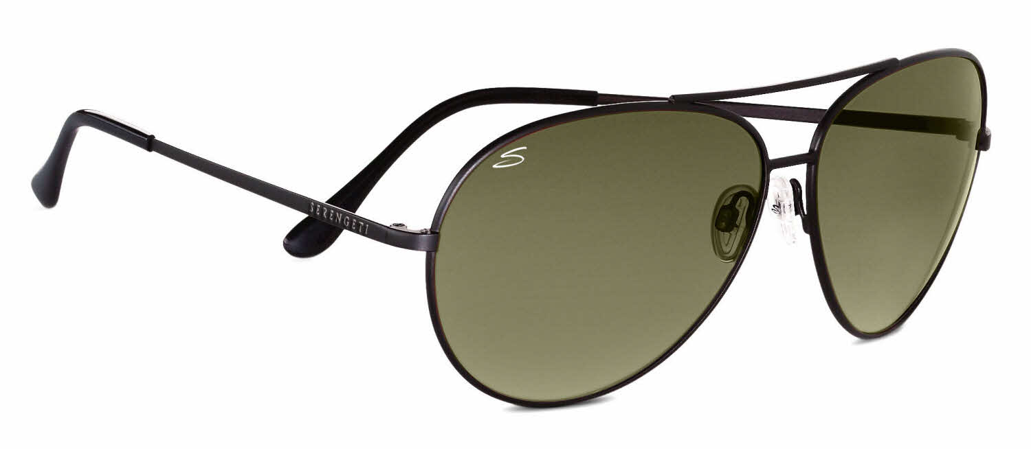 Serengeti Large Aviator Prescription Sunglasses