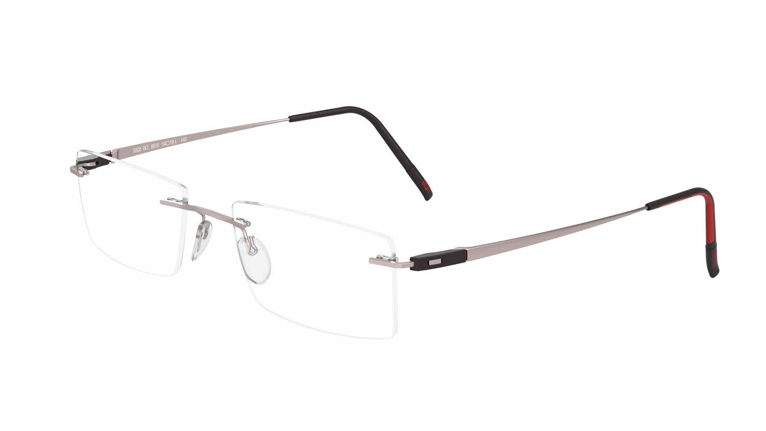 494caefe8eb83 Silhouette Rimless 5502 Racing Collection Eyeglasses