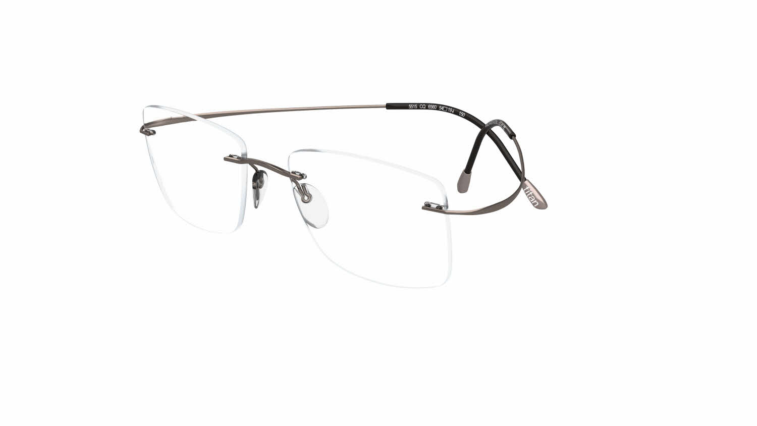 1298a23f00152 Silhouette Rimless 5515 (7799) Titan Minimal Art The Must Collection  Eyeglasses