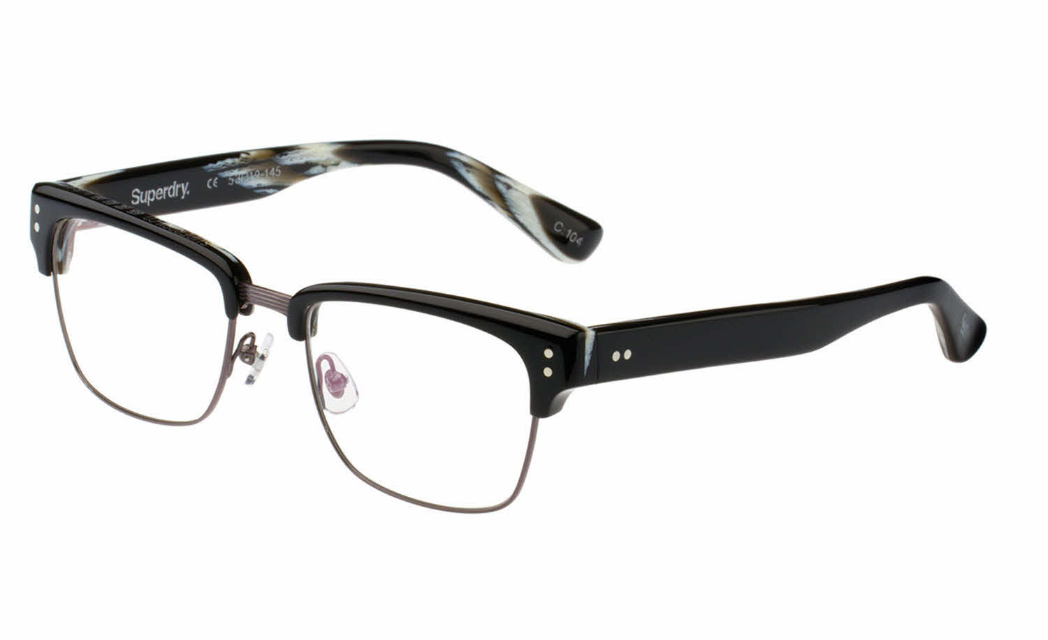 Glasses Frames Direct : Superdry Caine Eyeglasses Free Shipping