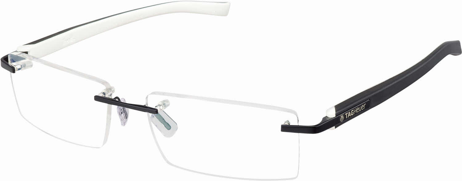 TAG Heuer Trends Rimless - Rubber 8110 Eyeglasses Free ...