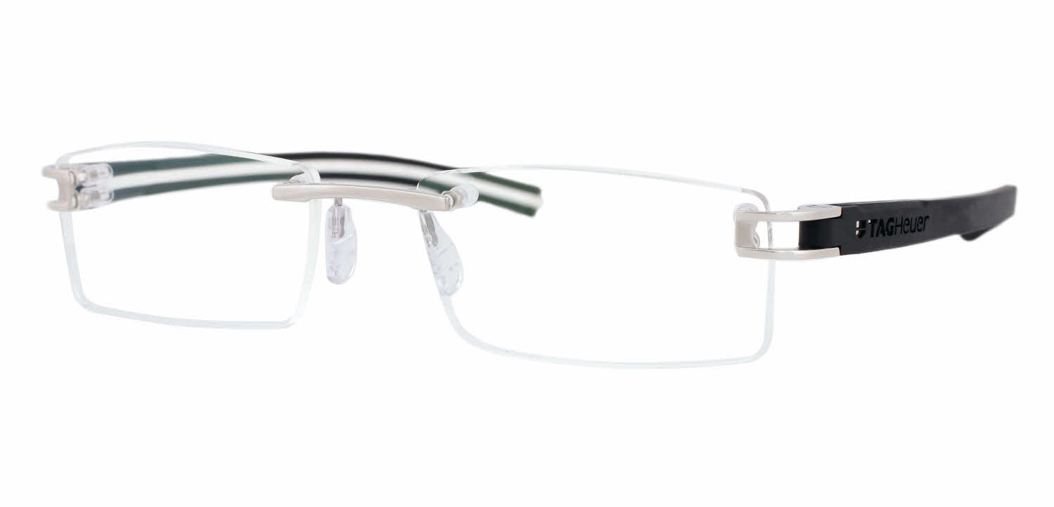 Rimless Glasses Tag Heuer : TAG Heuer Reflex Fold Rimless Track S 7641 Eyeglasses ...