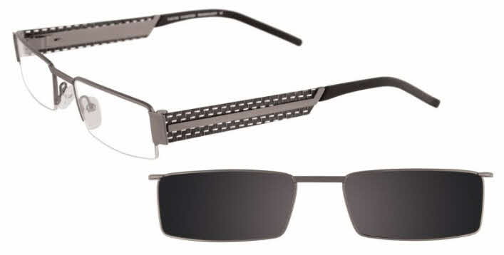 Takumi T9934 With Magnetic Clip-On Lens Eyeglasses