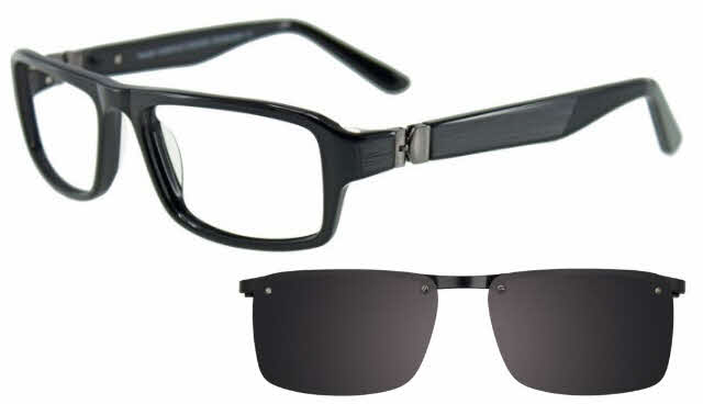 Takumi T9990-With Magnetic Clip on Lens Eyeglasses
