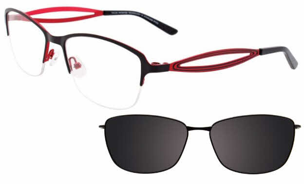 Takumi TK1001 With Magnetic Clip-On Lens Eyeglasses