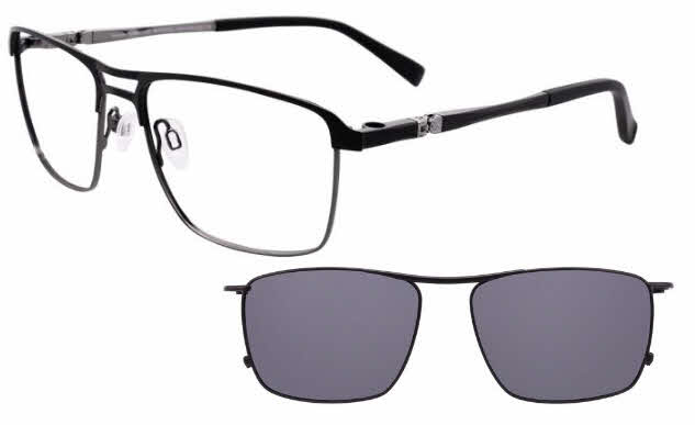 Takumi TK1007-With Magnetic Clip on Lens Eyeglasses
