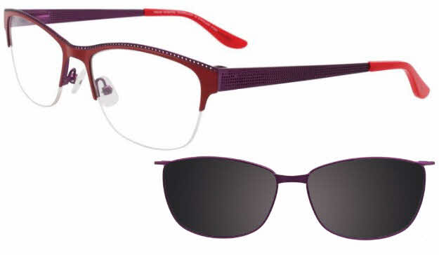 Takumi TK1008 With Magnetic Clip-On Lens Eyeglasses