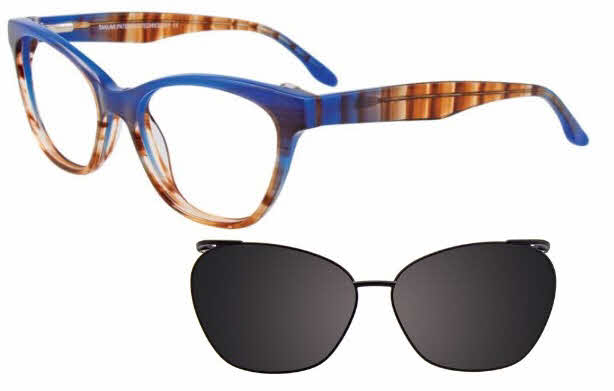 Takumi TK1051-With Magnetic Clip on Lens Eyeglasses