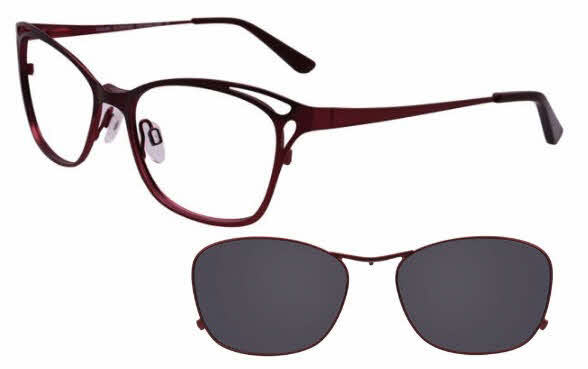 Takumi TK1058 With Magnetic Clip-On Lens Eyeglasses