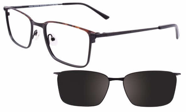 Takumi TK1066-With Magnetic Clip on Lens Eyeglasses