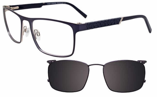Takumi TK1067 With Magnetic Clip-On Lens Eyeglasses