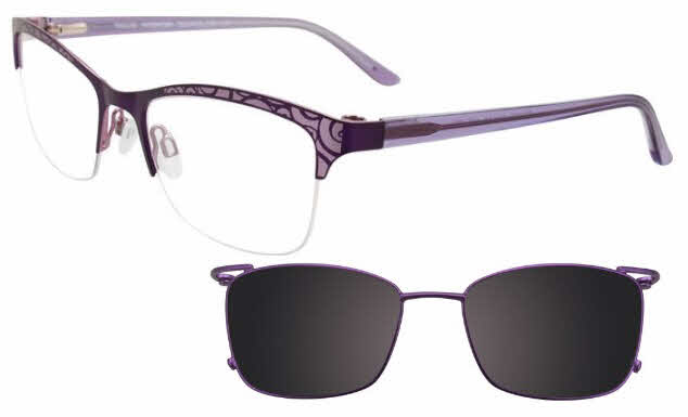 Takumi TK1075 With Magnetic Clip-On Lens Eyeglasses