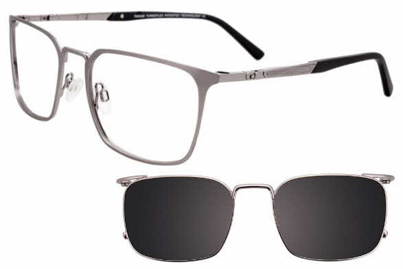 Takumi TK1076-With Magnetic Clip on Lens Eyeglasses