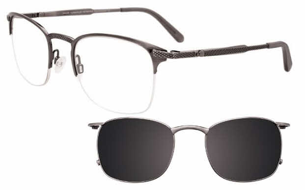 Takumi TK1092-With Magnetic Clip on Lens Eyeglasses
