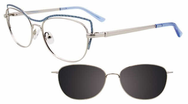 Takumi TK1103-With Magnetic Clip on Lens Eyeglasses