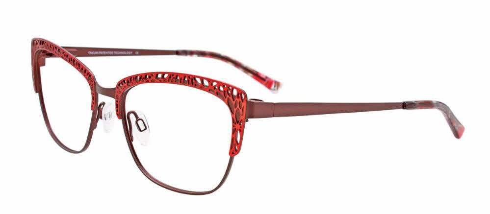 Takumi TK1130 With Magnetic Clip-On Lens Eyeglasses