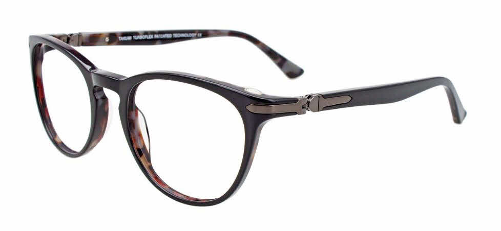 Takumi TK1132 With Magnetic Clip-On Lens Eyeglasses