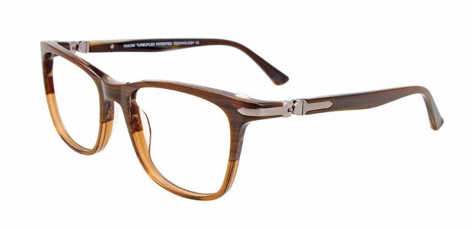 Takumi TK1133-With Magnetic Clip on Lens Eyeglasses