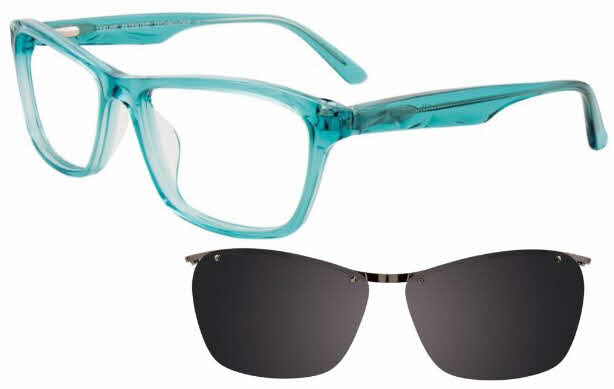 Takumi TK951-With Magnetic Clip on Lens Eyeglasses